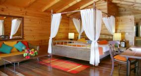 jacuzzi villa szoba