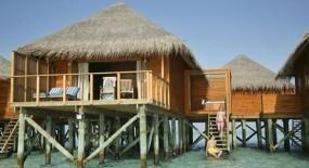 vízre épült bungaló