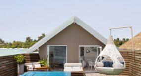 romantic pool water villas