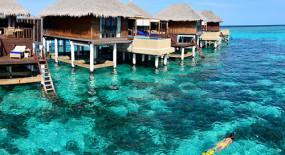 lagoon villák