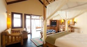 vízre épült bungaló szoba
