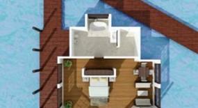 vízre épült villa alaprajz